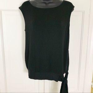 🌷 Black short sleeve top by Ann Taylor LOFT